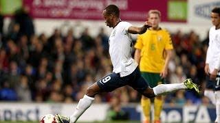England U21s vs Lithuania 5-0, UEFA Championship qualifier