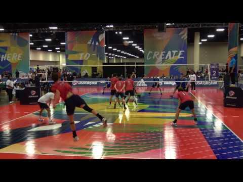 SCVA Youth Intl -vs- Team BC 18U - 2017 USA Volleyball HP - DiegoNick