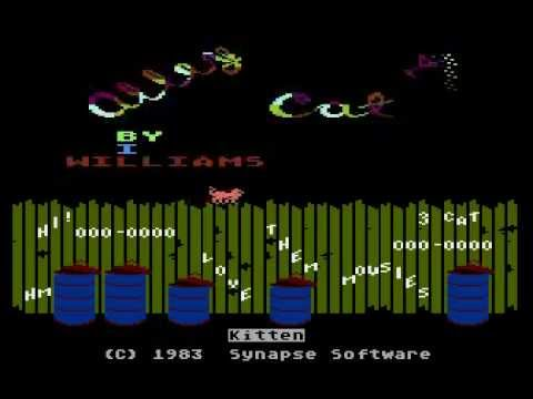 Alley Cat - Atari XL/XE gameplay and music