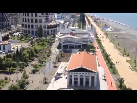 2016. Армения - Грузия. 10. Батуми (фуникулер и башня)