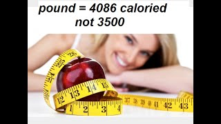 how many calories do you have to burn to lose a pound