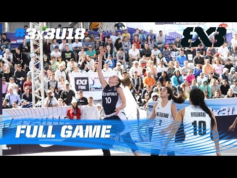 New Zealand vs. Czech Republic - Women´s Quarter-Final - 2016 FIBA 3x3 U18 World Championships