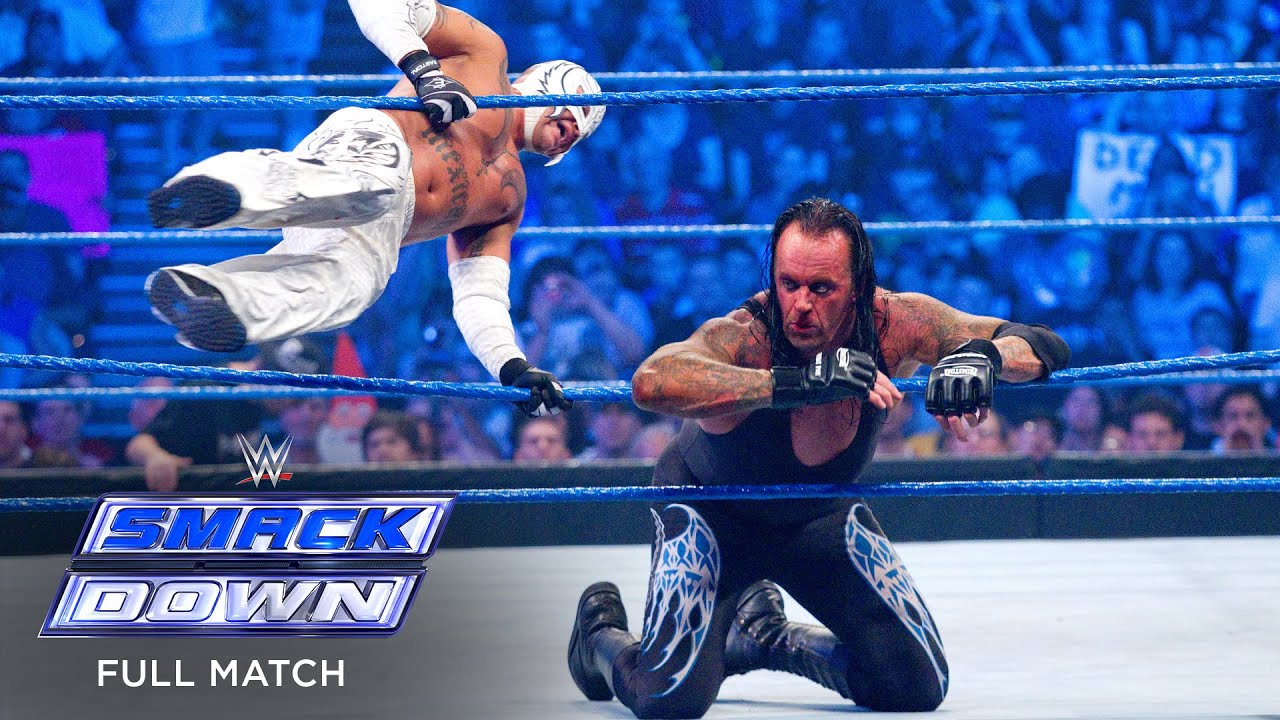 Download FULL MATCH - Undertaker vs. Rey Mysterio: SmackDown, May 28, 2010