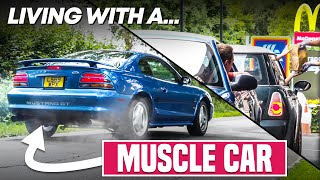 homepage tile video photo for Can You REALLY Live With An American Muscle Car?