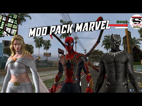 Marvel And Dc Superhero Mod Pack Android - 동영상