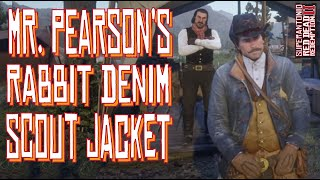 Unlocking Mr Pearson's Special Rabbit Scout Jacket, In Red Dead Redemption 2