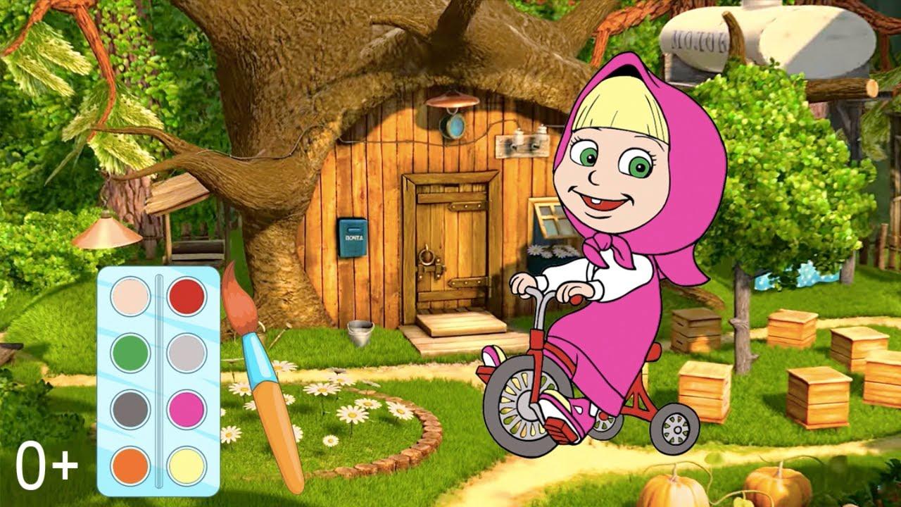 Мультик раскраска. Детские онлайн раскраски из мультфильма ...