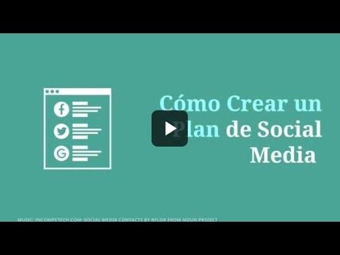 Cómo Crear un Plan de Social Media para tu Web o Blog