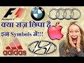 6 FAMOUS LOGOS WITH A HIDDEN MEANING HIDDEN MESSAGES APPLE LOGO ADIDAS AUDI BMW HINDI AMAZING FACT