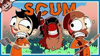 SURVIVAL of the STRANGEST! | Nanners, Sark, APL & Chilled! (SCUM - Funny Moments)