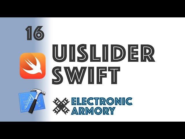Sliders in Swift iOS - UISlider