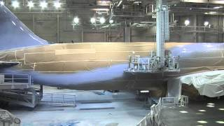 LAN 787 Despegue y Pintura - Take off and painting