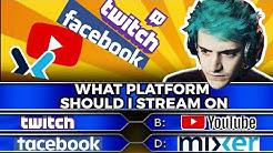 The Best Platform to Stream on in 2020