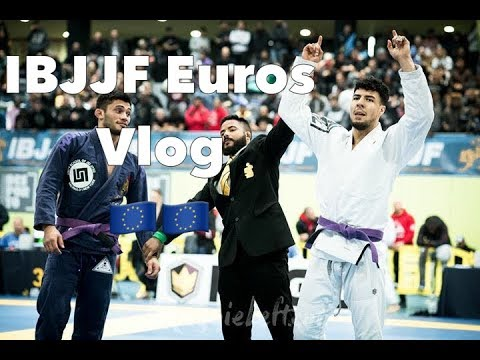 IBJJF Europeans 2019 Vlog