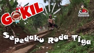 Saswi Channel - Gokil Sepedaku Roda Tiga