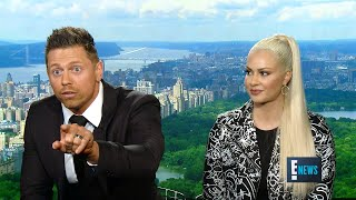 "While discussing ""Miz & Mrs."" with E! News, The Miz launches into a..."