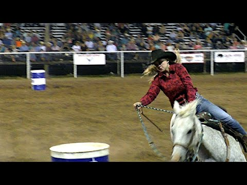 Barrel Racing - 61st White Deer Rodeo 2019