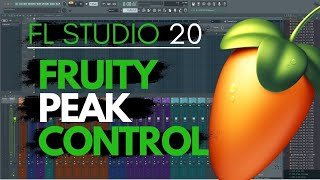 FL Studio LFO Tutorial How To Use The Fruity Peak Controller LFO