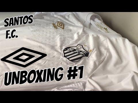 Unboxing - Camisa do Santos Umbro 2018