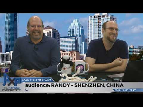 Live Audience ? - Favorite Type of Caller | Randy - Shenzhen, China | Atheist Experience 21.47