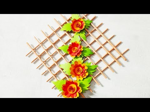 DIY - Wall Hanging from Paper /kagojer wallmate /paper craft wall mate 2019 #10