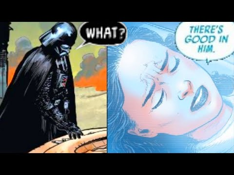 DARTH VADER HEARS PADME'S LAST WORDS(CANON) - Star Wars Comics Explained