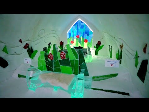 #892 Quebec City's WORLD FAMOUS Ice Hotel 2019 - Jordan The Lion Daily Travel Vlog (1/15/19)