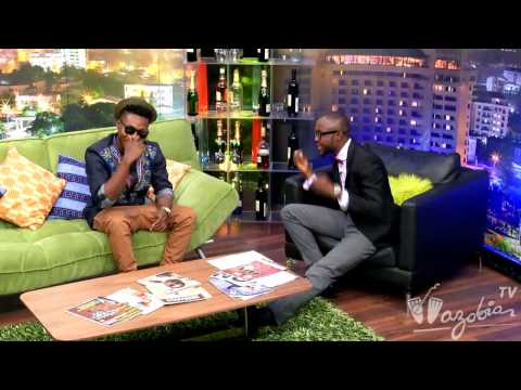 THE LATE NIGHT SHOW - Guest. Reekado Banks | Wazobia TV