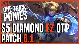 Patch 6.1 Ezreal ADC OTP - Matchup: Lucian - Ranked KR