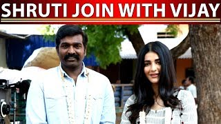 Shruthu Hassan joins with VJS