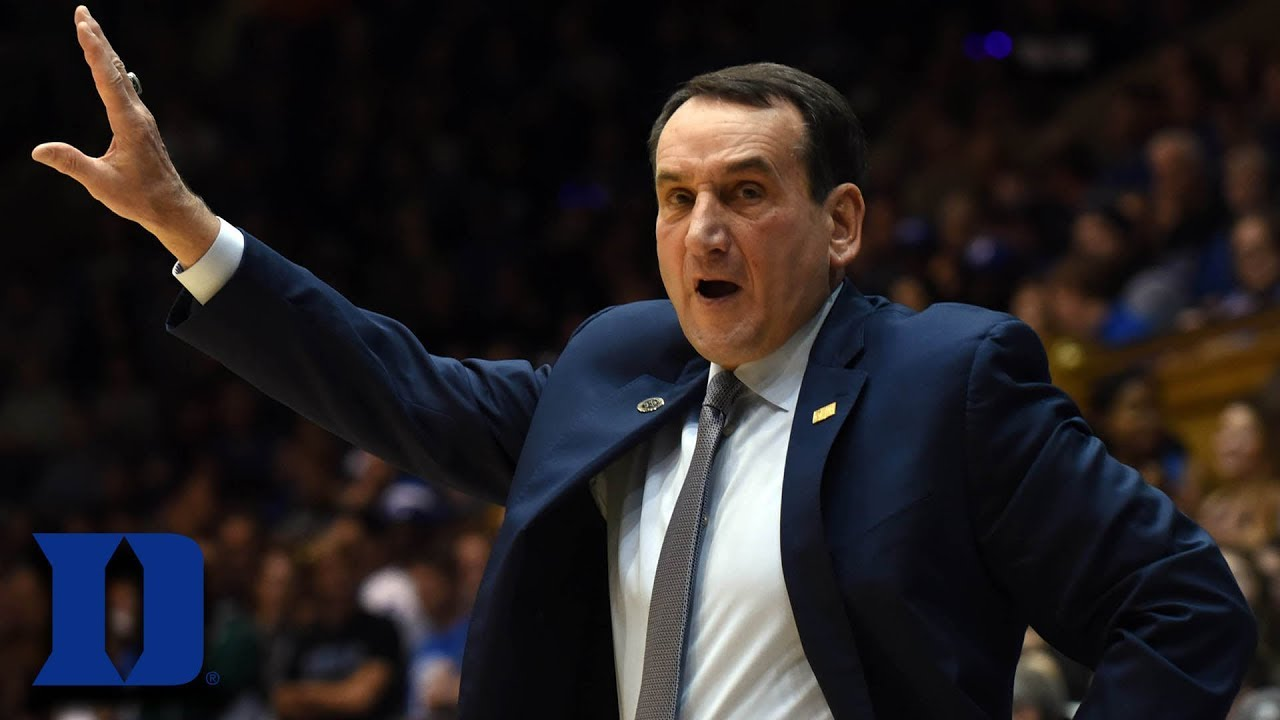 Coach K Earns 1,000th Career Win At Duke - YouTube
