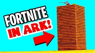 ARK PVP WILL NEVER BE THE SAME AFTER THIS! FORTNITE COMES TO ARK SURVIVAL EVOLVED