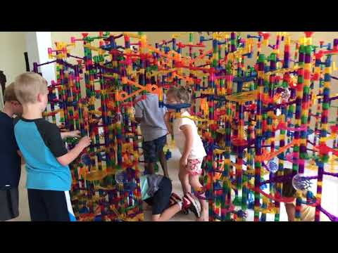 The Great Marble Run Fort