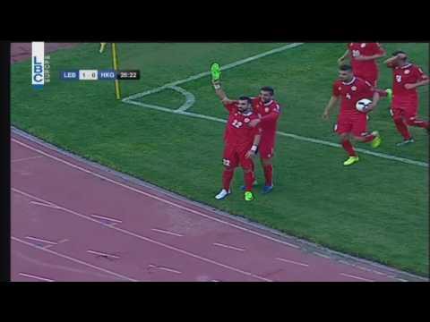 Football  - Lebanon v/s Hong Kong  - Mhamad Ghaddar's goal
