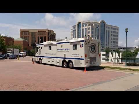NEWPORT NEWS MOBILE COMMAND POST...MAK KAM VIDEOS