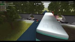 ROBLOX Train Hits Bus 1