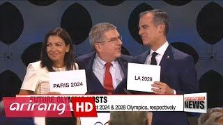 IOC confirms Paris & LA to host 2024 & 2028 Olympics, respectively