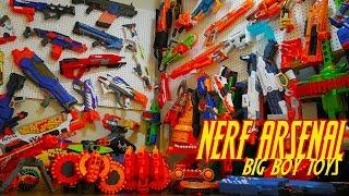 NERF ARSENAL!!