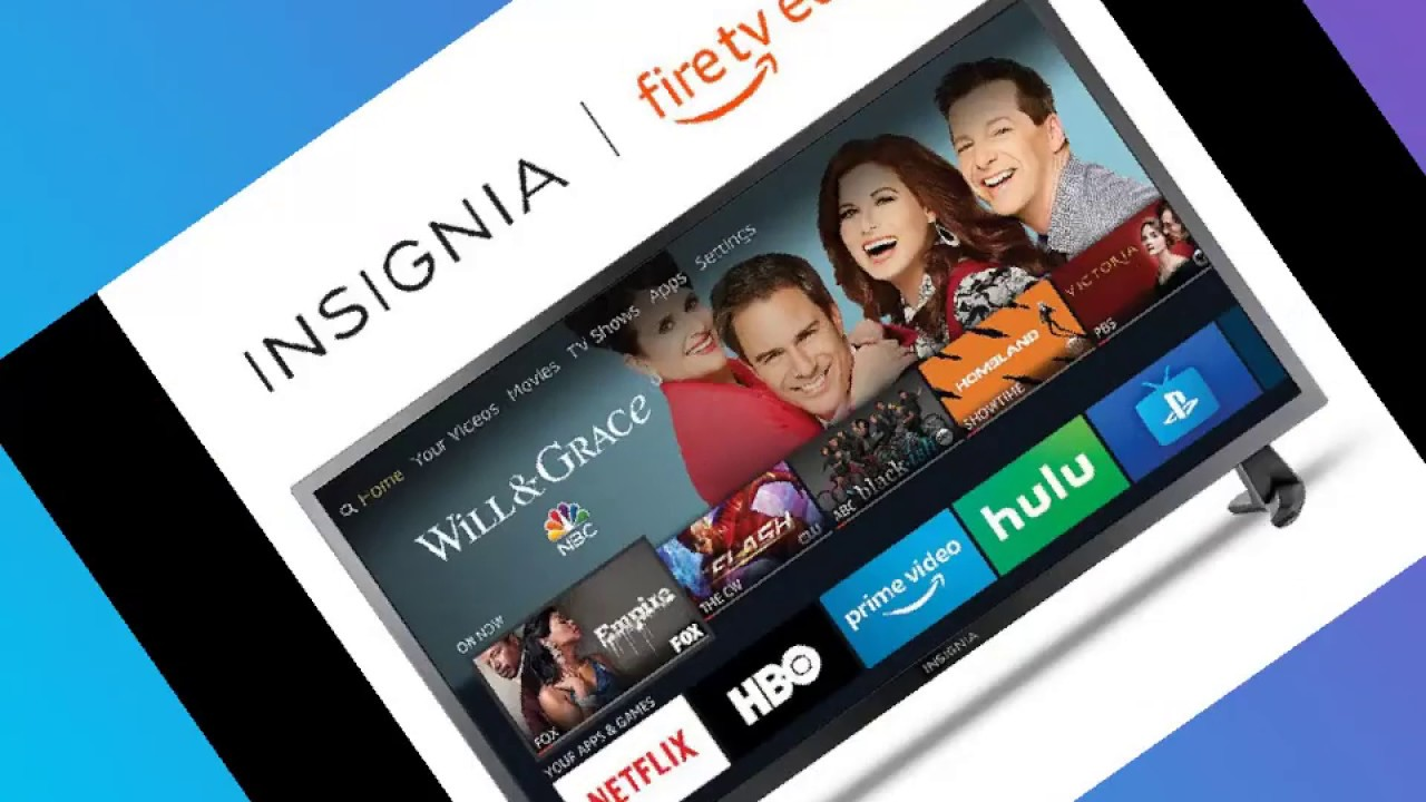 insignia fire tv edition apps