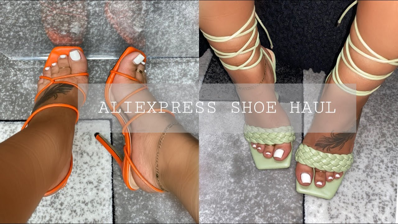 HUGE ALIEXPRESS SHOE/HEEL HAUL | GETTING READY FOR SPRING AND SUMMER ALREADY