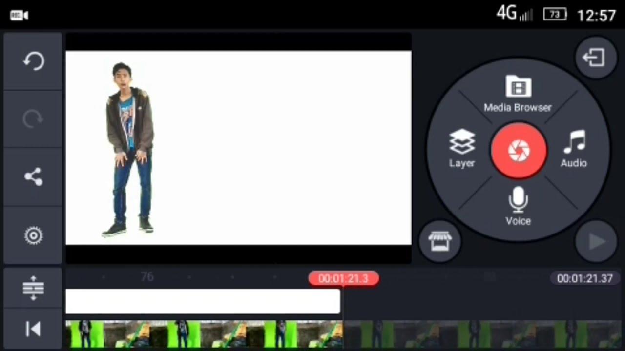 Cara Mudah Mengganti Background Video Dengan Green Screen Di Android Tutorial Kinemaster Youtube