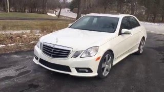 2011 mercedes benz e350 awd w amg sport package