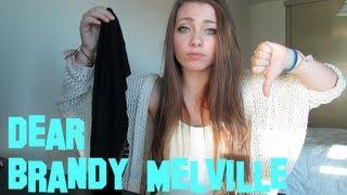 Dear Brandy Melville!