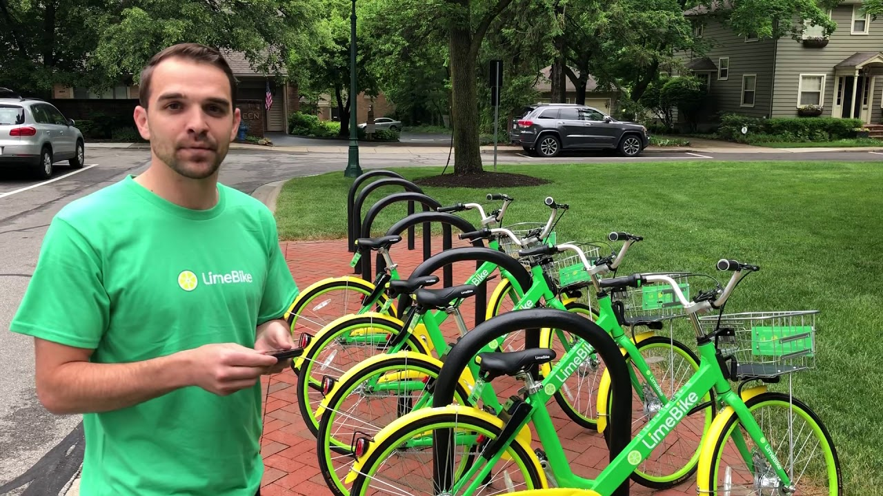 Kyle Bivenour on how to use Lime bikes in Dublin, Columbus and Worthington