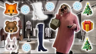 Vlogmas Luxury Shopping - Trying On Max Mara's Most Luxurious Coats! + Stuart Weitzman Boots Try On!