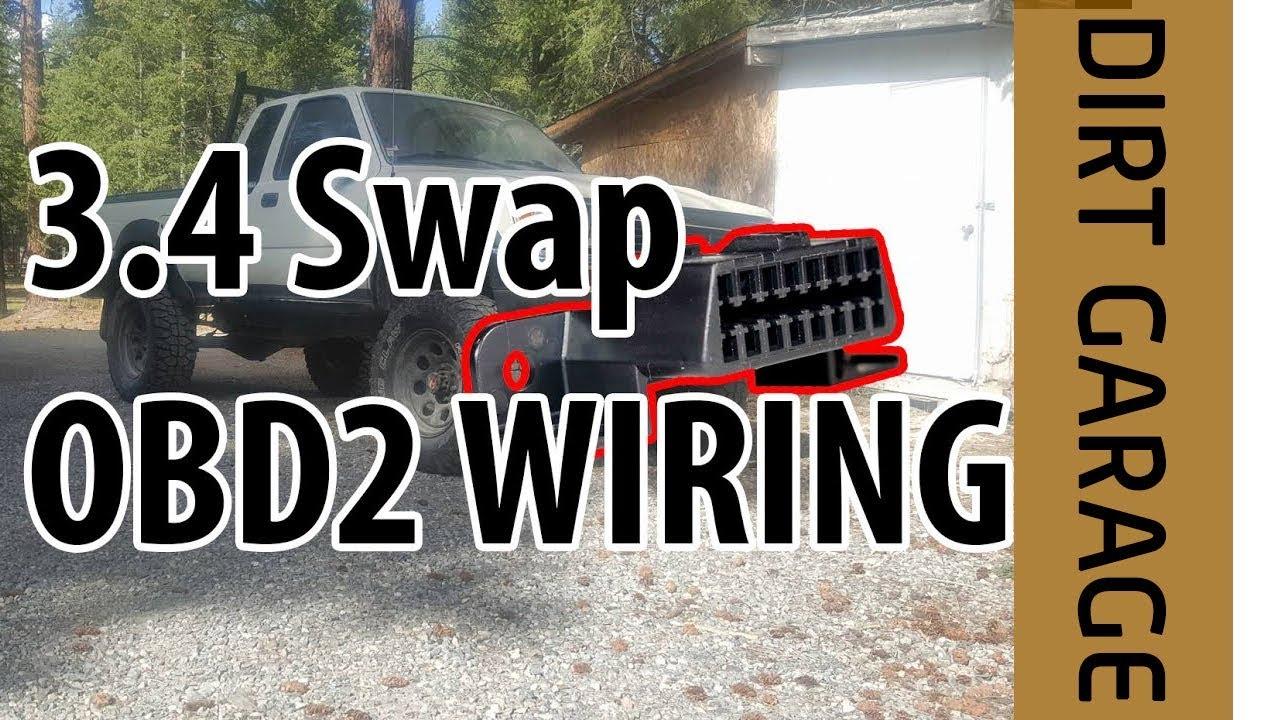 Toyota 34 Swap Obd2 Wiring Guide Youtube 5vzfe Diagram