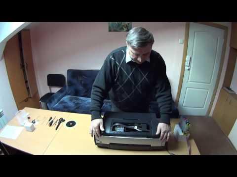 видео: Разборка и ремонт принтера epson stylus 1410