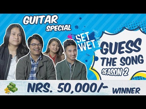 | GUESS THE SONG | Guitar special | Season 2 Episode 4