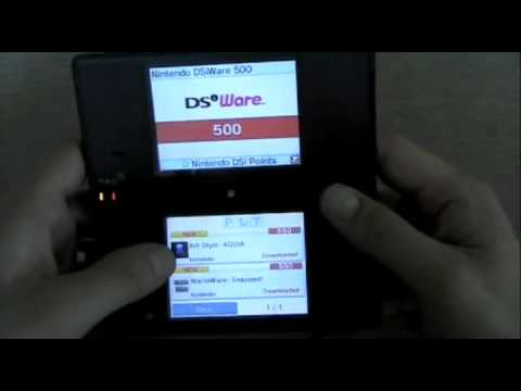Nintendo DSi - DSi Shop and DSi (Opera) Web Browser