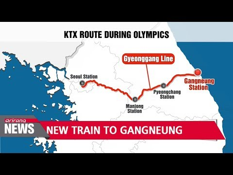 New KTX Gyeonggang Line opens, taking passengers from Seoul to Gangneung in less than 2 hours